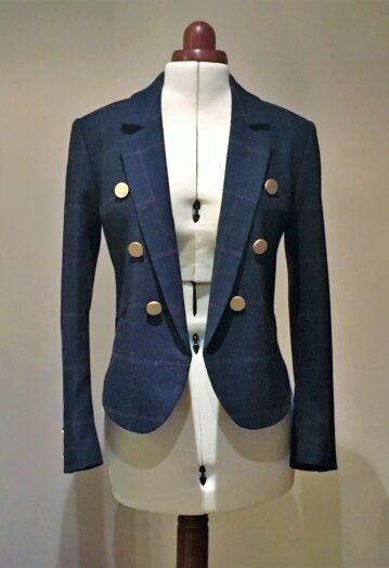 Tailored Tweed Blazer – COMING SOON
