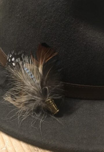 Dainty Feather Hat Pin